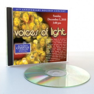 "2010 Annual Holiday Concert: ""Voices of Light"""