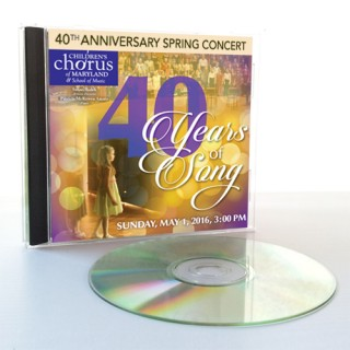 "2016 Annual Spring Concert: ""40 Years of Song"""