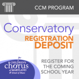 Conservatory - Deposit for 2017-2018